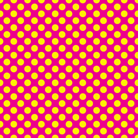 any size: Beautiful seamless vector baby pink dots pattern on white background. Can be scaled at any size and used for wallpaper pattern files web page background surface textures.  Illustration