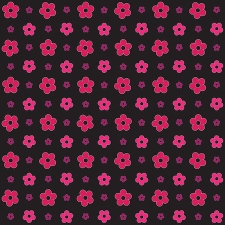 Seamless flower pattern background for wallpaper pattern web blog surface textures graphic  printing. Illustration