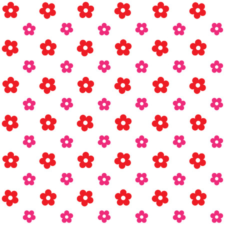 2d wallpaper: Seamless flower pattern background for wallpaper pattern web blog surface textures graphic  printing. Illustration