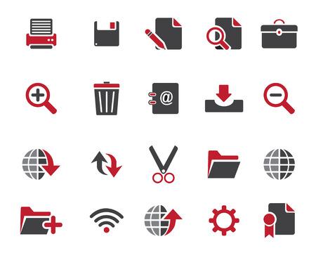 broken link: Stock Vector Casta�o web y los iconos de oficinas en alta resoluci�n. Escalado en cualquier tama�o y utilizado para el SEO, p�gina web, blog, aplicaciones m�viles, documentos, impresi�n gr�fica.
