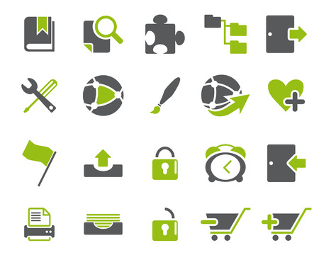 scaled: Stock Vector web and office icons in high resolution. Scaled at any size and used for SEO, web page, blog, mobile apps, documents, graphic  printing.