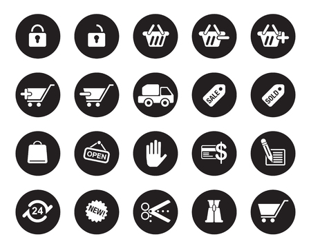 office web icons vector for office, web, blog, graphic & printing