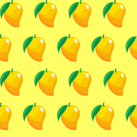 fruit contour abstract seamless pattern on light yellow background for wallpaper, pattern, web, blog, surface, textures, graphic Illustration