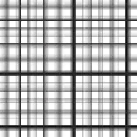 black square lines seamless pattern