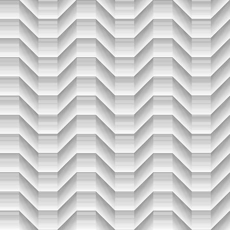 Geometrical black shaded cubical seamless waves pattern lines