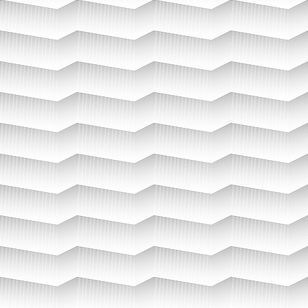 Geometrical grey lines Seamless pattern on white background