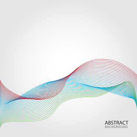 Colourful waves contour abstract seamless pattern backgrounds. Available in high-resolution jpeg in several sizes Illustration