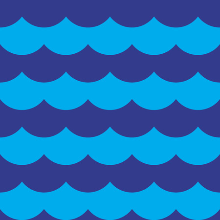 Blue colorful cloudy seamless pattern background