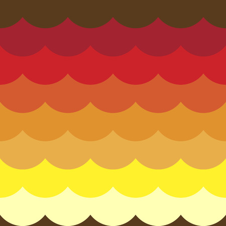 Colorful cloudy seamless pattern background Illustration