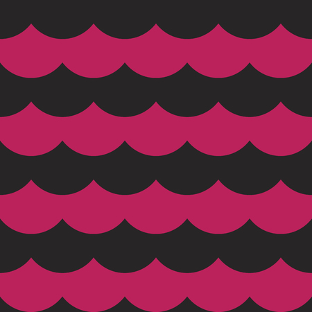 Black pink colorful cloudy seamless pattern background