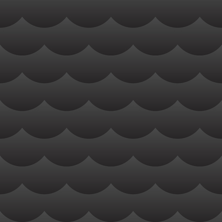 Black shaded cloudy seamless pattern background