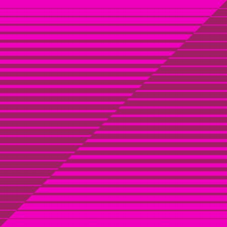 Pink striped geometrical diagonal parallel lines pattern on dark pink maroon background. Repeat straight stripes texture background.
