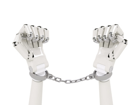 resisting arrest: Chained robot concept
