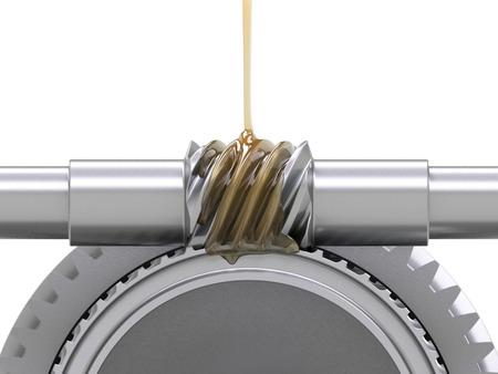 greasing: Engrase de engranajes