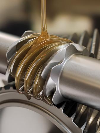 Len, Schmieren Gears Standard-Bild - 30662377