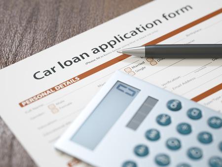 Car Loan Application photo