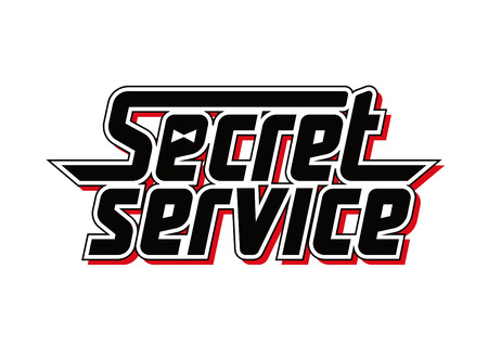 special agent: Logo superagent. Isolated vectror Illustration