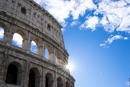 A glimpse of Rome Banco de Imagens