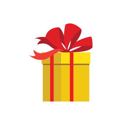 Vector Geschenkboxen isoliert auf weißem Hintergrund Standard-Bild - 99561555