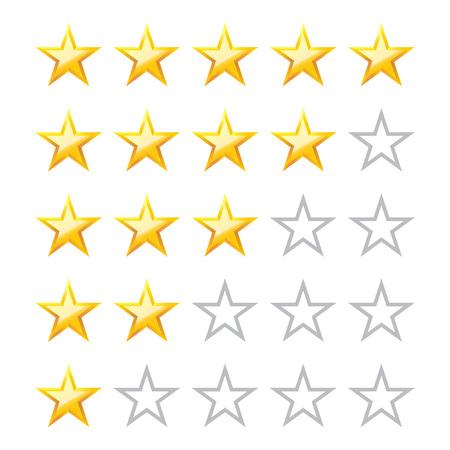 Rating stars.