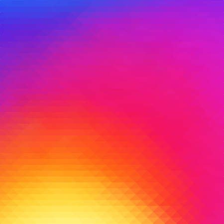 Vector illustration. Colorful smooth mosaic color background wallpaper. Иллюстрация