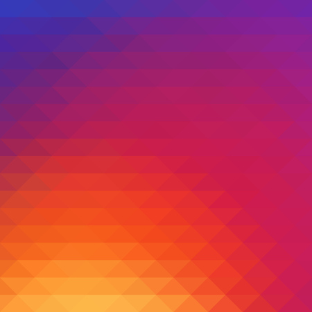 Vector illustration. Colorful smooth large mosaic elements color background wallpaper.
