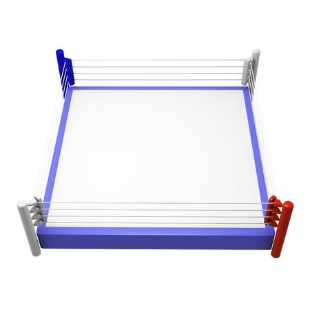 ボクシングのリング 写真素材