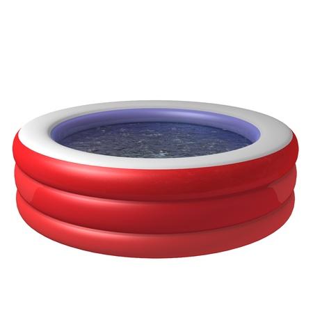 Kid inflatable pool