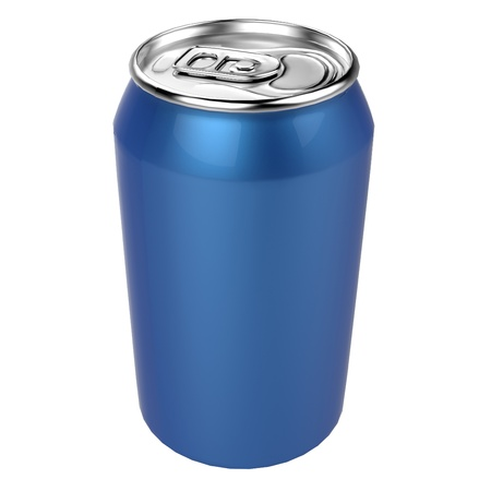 aluminum can Stock Photo - 18304472