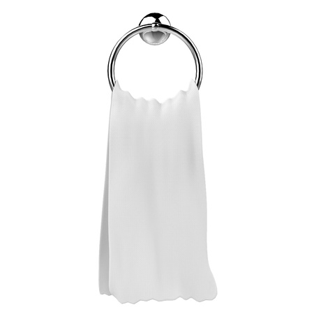 Towel on a hanger photo