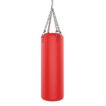 Punching bag photo
