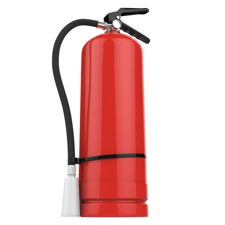 inflammable: fire extinguisher
