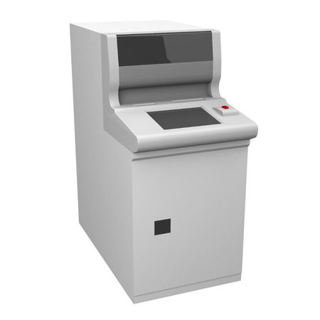 automated teller: Automated teller machine Stock Photo