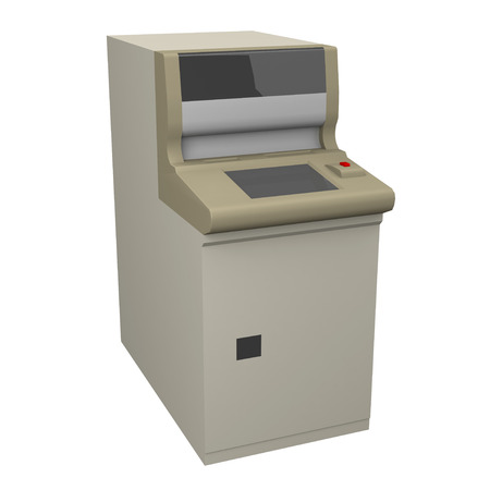 teller: Automated teller machine Stock Photo