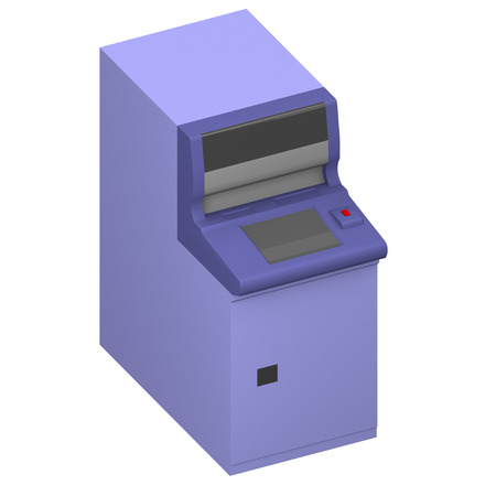 automated teller: Automated teller machine Stock Photo