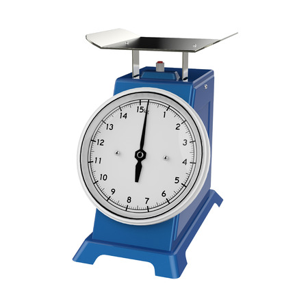 grams: weight scale Stock Photo