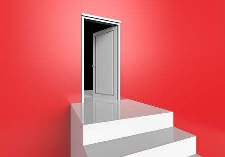 3dcg: The door made from 3dcg