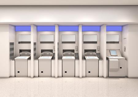 Automated teller machine Stock Photo