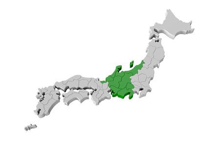 prefecture: Japan map