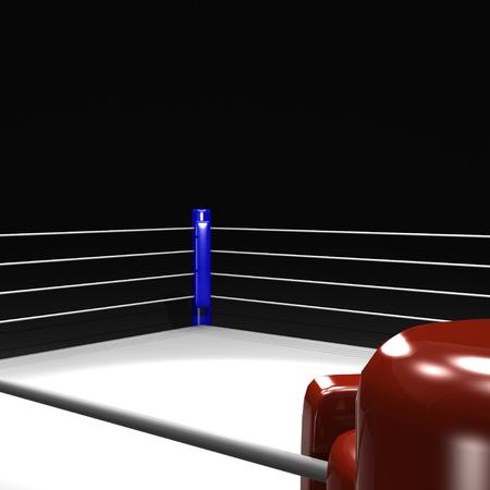 ring de boxeo Foto de archivo
