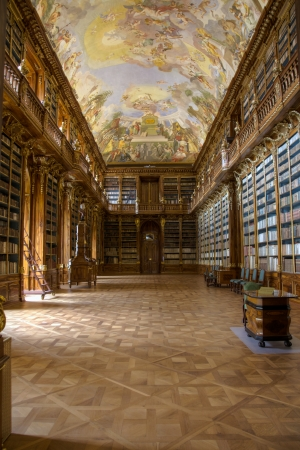 Prague, Czech Republic, May 31, 2012, Strahov Philosophical Library Editorial