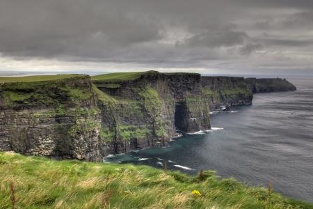 The Cliffs of Moher Standard-Bild
