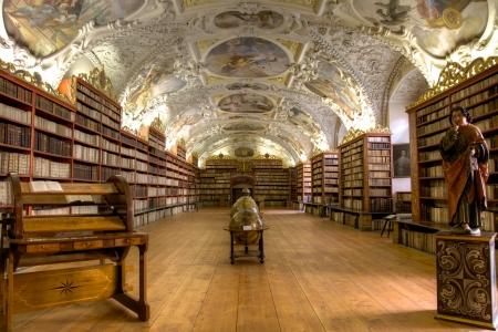 Prag, Tschechische Republik, 31. Mai 2012, Strahov Theological Library.