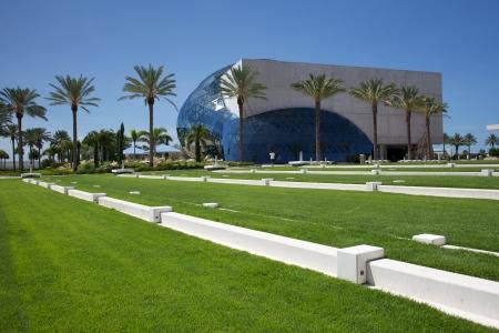 St. Petersburg, Florida, USA - July 30, 2011: Salvador Dali Museum