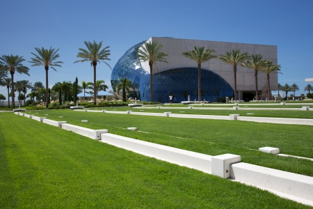 St. Petersburg, Florida, USA - July 30, 2011: Salvador Dali Museum
