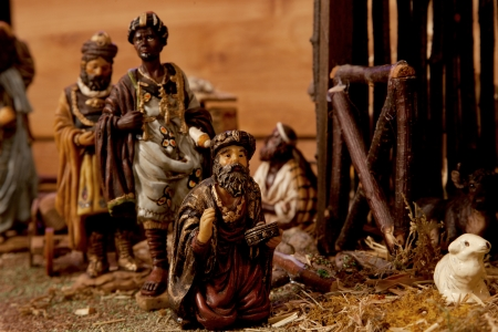 The Three Kings  Nativity Scene  photo