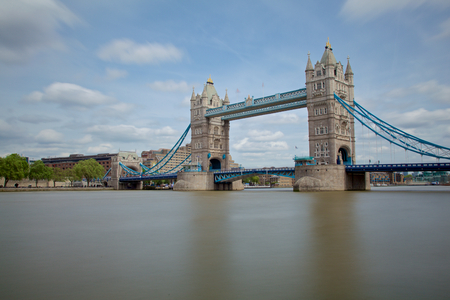 Tower Bridge Panorama in London