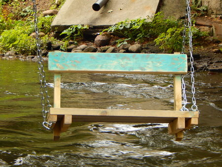 teeter: Teeter above water