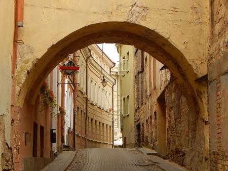 vilnius: Arch in Vilnius
