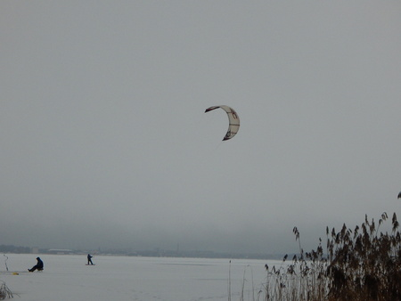kiting: Winter kiting